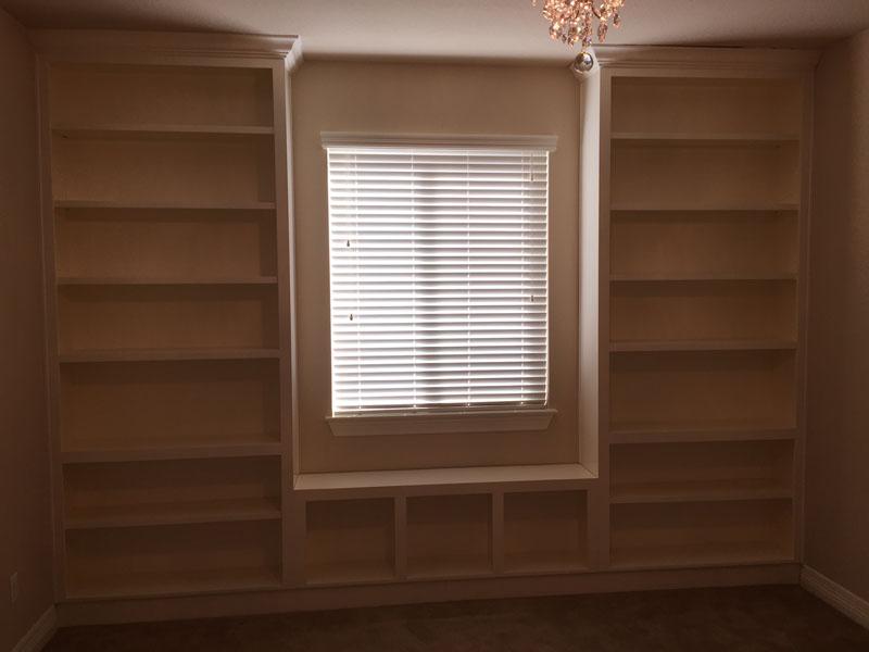 Jaimes Custom Cabinets White Built