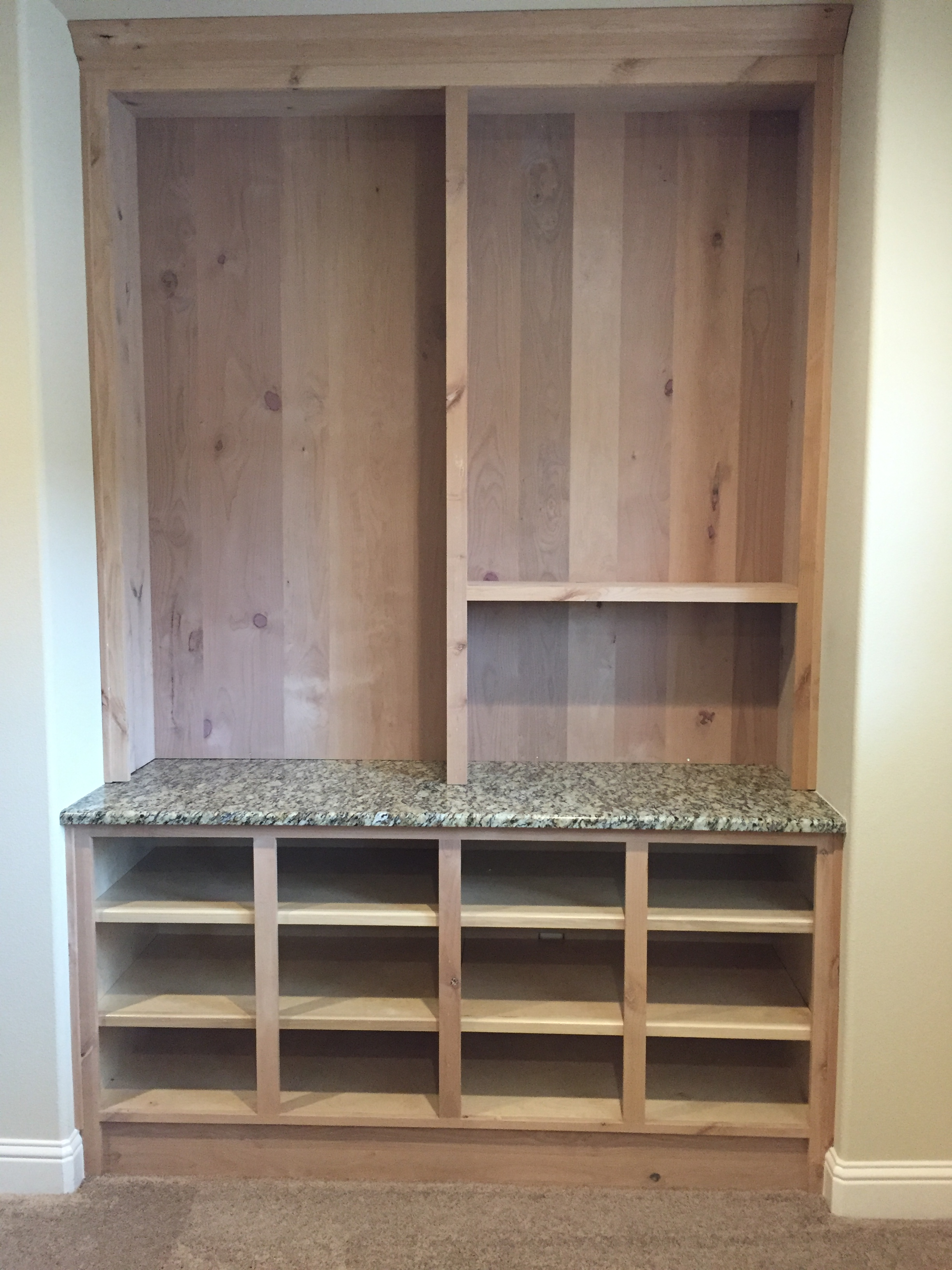 Jaimes custom cabinets custom built in - Custom made cabinet ...