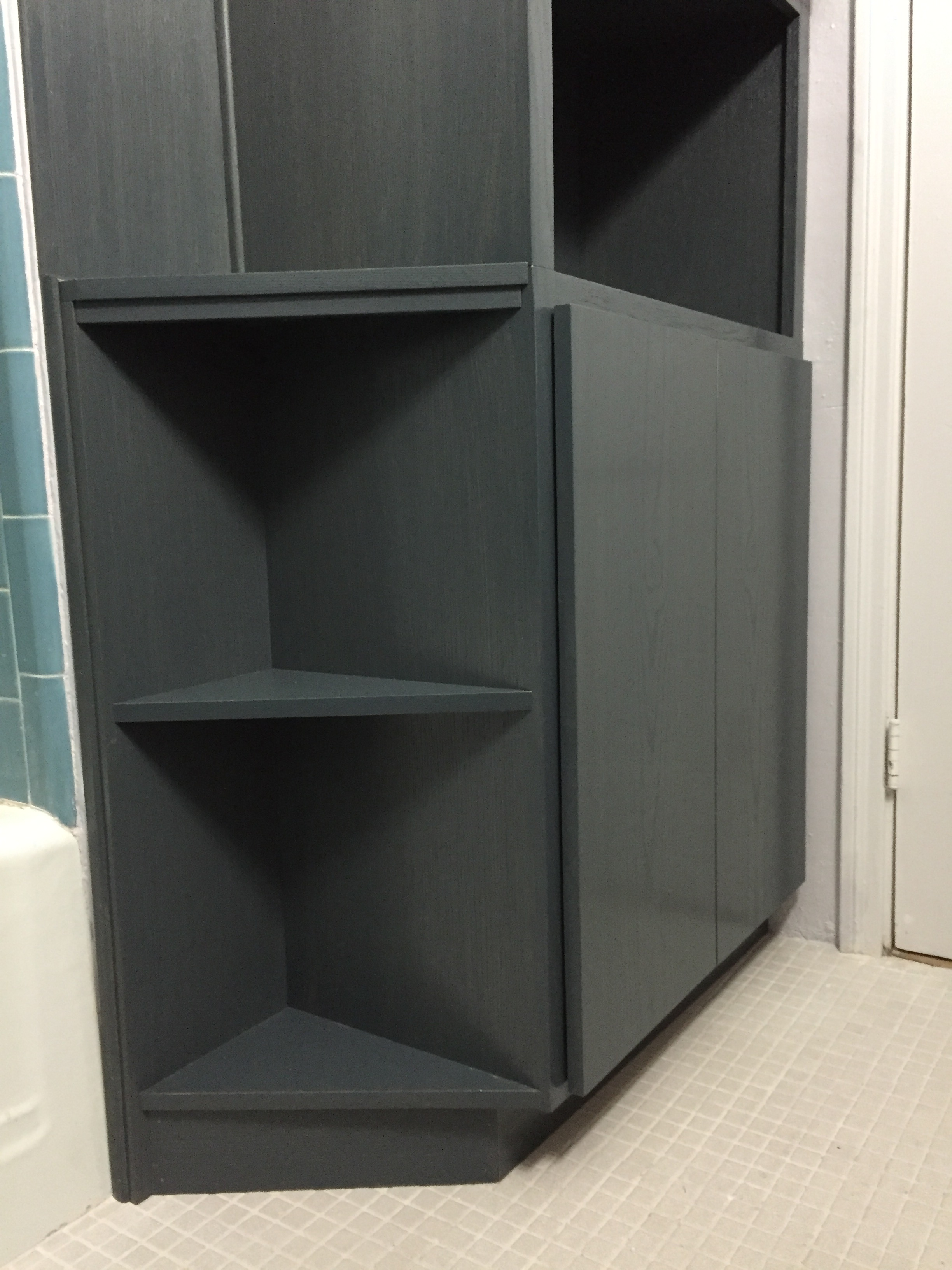 Photo of Custom Bathroom Cabinets Charcoal