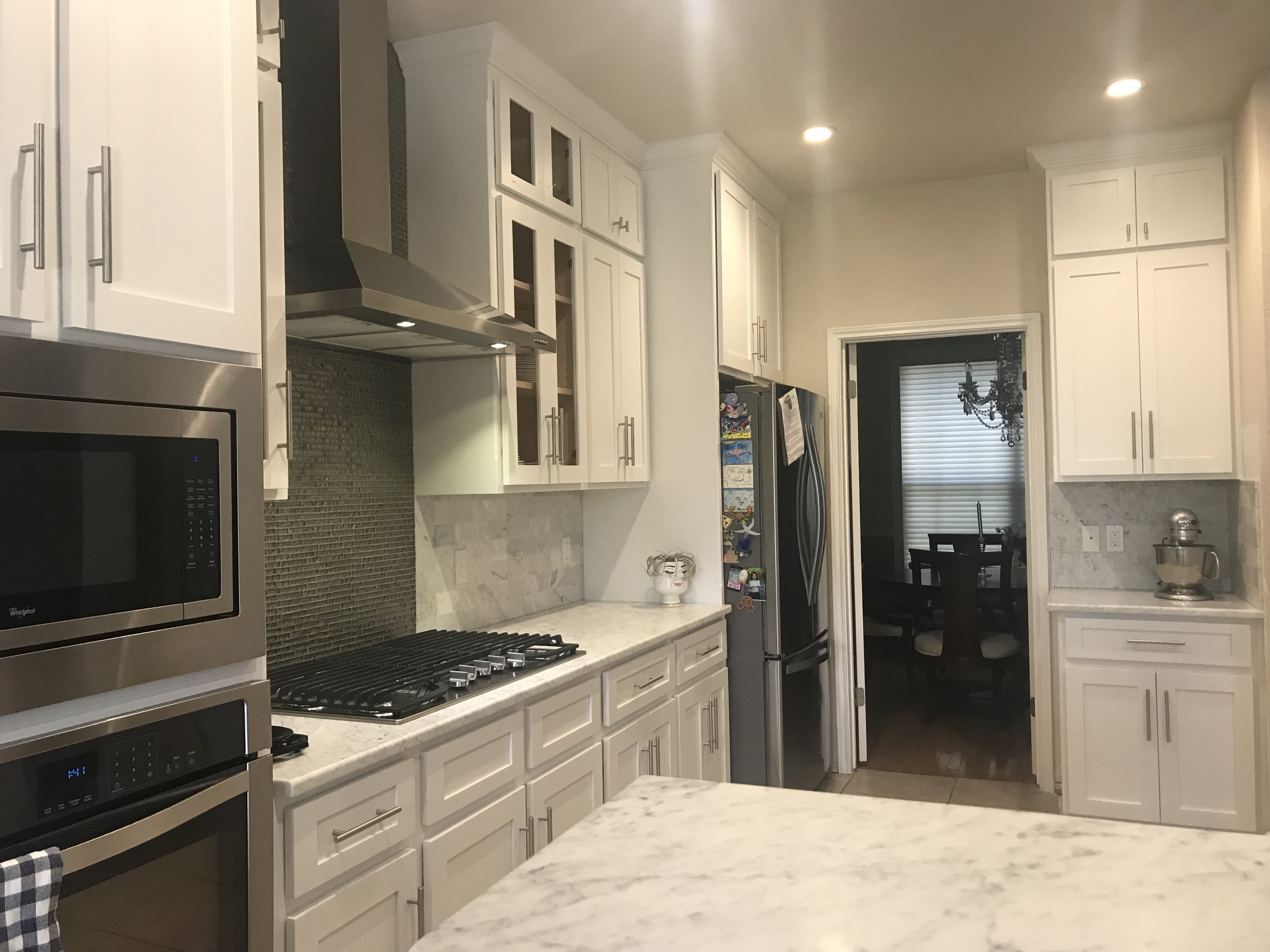 Photo of Custom Built Kitchen Cabinets