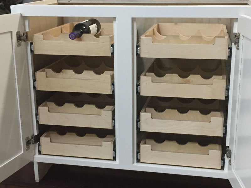 Photo of Pull Out Wine Racks